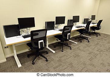 computerzimmer, labor