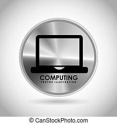 computing button