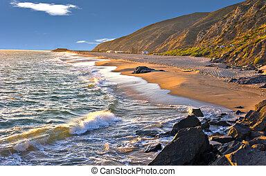 comté, ventura, ca, plages