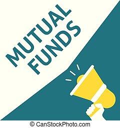 comune, announcement., fondi, mano, discorso, presa a terra...