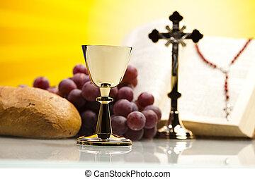 comunión, santo