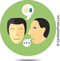 comunicação, processo, conceito