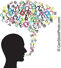 comunicação, símbolo