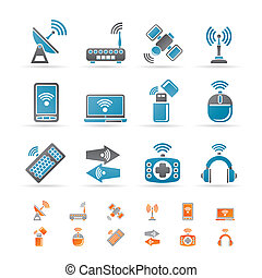comunicação, tecnologia, sem fios