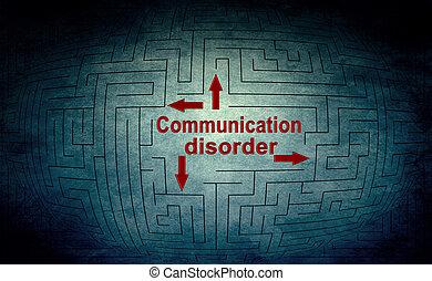 comunicación, desorden