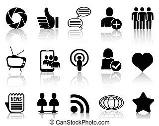 comunicación, establecimiento de una red, social