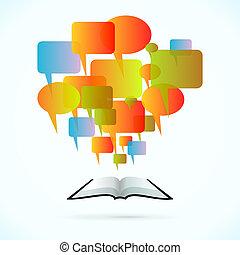 comunicación, libro