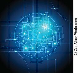 comunicaciones globales, concepto abstracto, plano de fondo