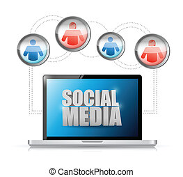 comunicazione, collegamento, sociale, tecnologia, media