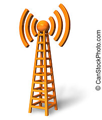 comunicazione fili, torre