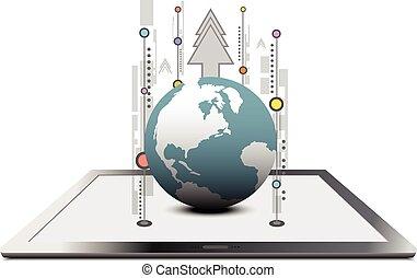 comunicazione globale, tecnologia