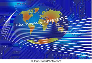 comunicazione globale, -, vettore