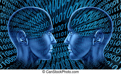 comunicazione, internet