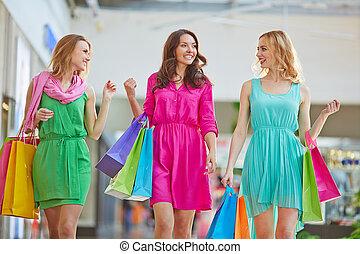 comunicazione, shopping