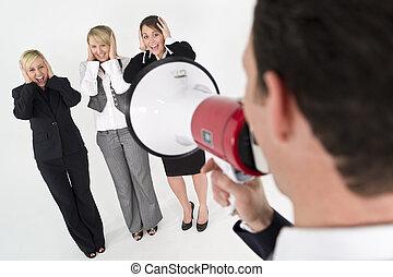 comunicazione, squadra affari