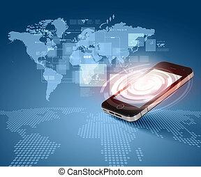 comunicazione, tecnologia moderna