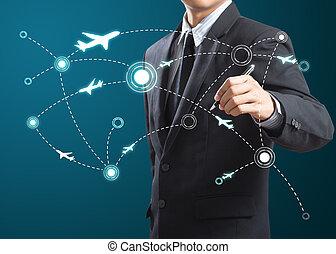 comunicazione, tecnologia moderna, rete, sociale