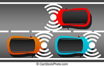 comunicazione, veicolo
