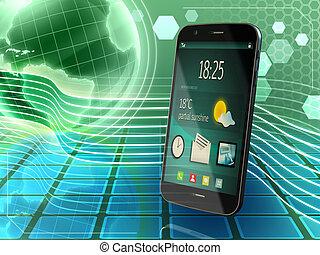 comunicazioni, smartphone