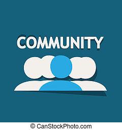 comunidad, gente
