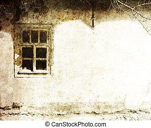 comunismo, viejo, pasado, legado, ukraine., aldea