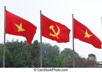 comunista, bandera