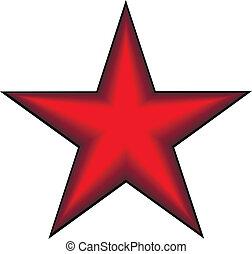 comunista, stella rossa