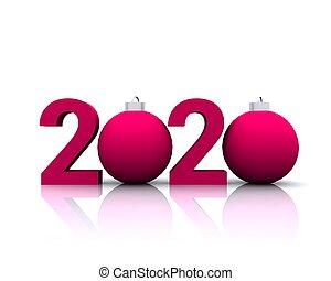 con, 2020, bombe, rosso