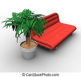 conceito, 3d, relaxamento