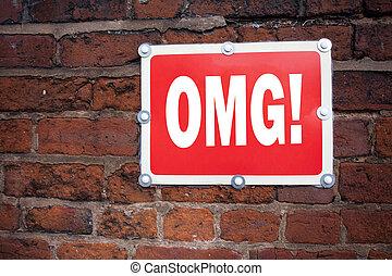 conceito, antigas, texto, sinal, anúncio, humor, espaço, deus, escrita, escrito, surpresa, omg, mostrando, mão, significado, fundo, cópia, inspiração, oh, caption, meu, estrada