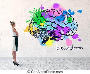 conceito, brainstorm