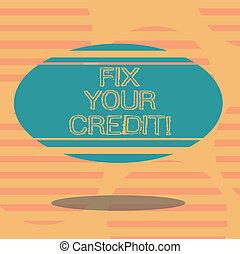 conceito, cor, texto, credit., equilíbrios, forma, em...