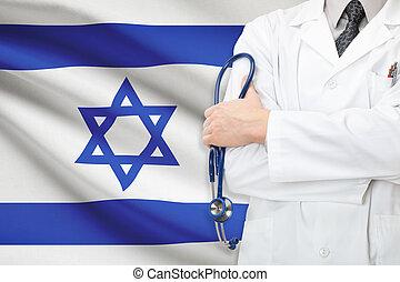 conceito, de, nacional, cuidados de saúde, sistema, -, israel