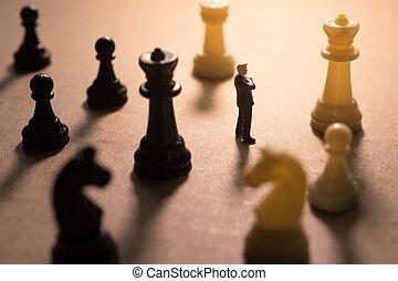 conceito, de, negócio, strategy.