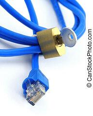 conceito, de, segurança internet