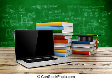 conceito, Educação,  3D, e-aprendendo