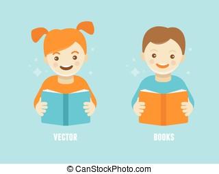 conceito, educação, crianças