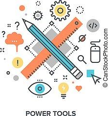 conceito, ferramentas, poder