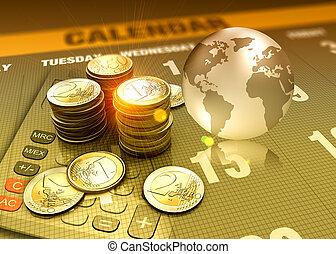 conceito, finanças, investimento