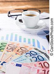 conceito, financeiro, negócio