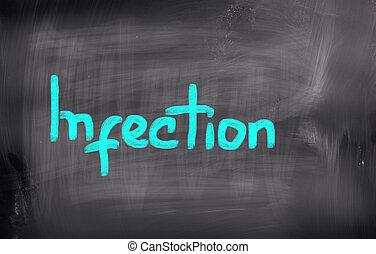 conceito, infecção