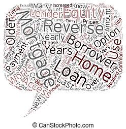 conceito, inverter, hipoteca, texto, como, wordcloud, fundo,...