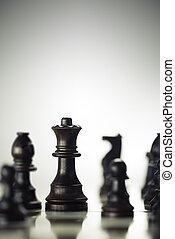 conceito, jogo, antecipação, risco, xadrez