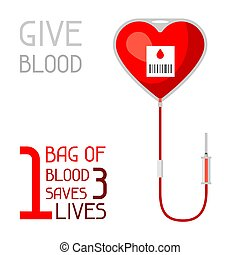 conceito, médico, economiza, 1, saco, 3, sangue, cuidados de saúde, lives.