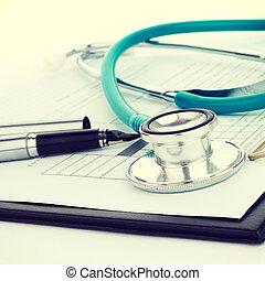 conceito médico, -, instagram, filtro