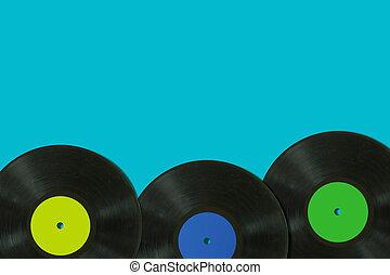 conceito, música, fundo