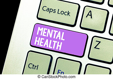 conceito, mental, texto, wellbeing, psicológico, significado, demonstrar, emocional, letra, condição, health.