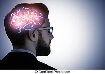 conceito, mente, artificial
