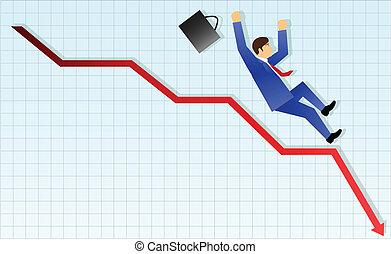 conceito negócio, fracasso