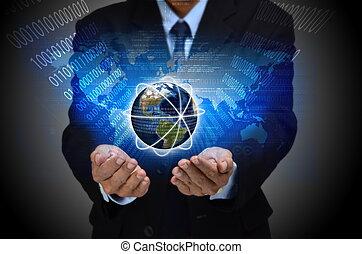 conceito, negócio, internet